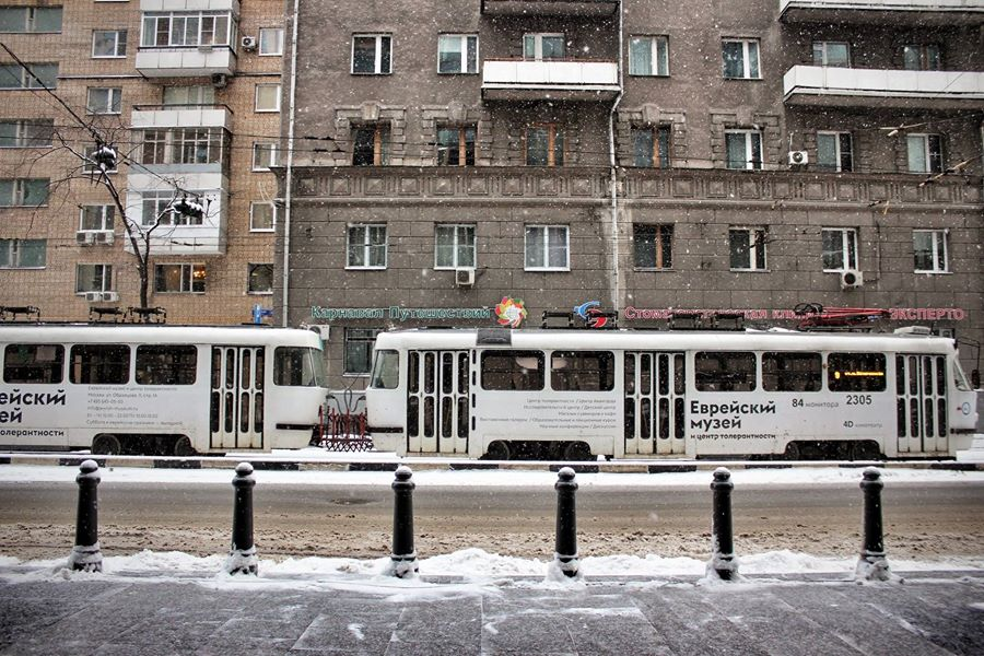 Snow in Moscow, photo credit to Dustin Taylor