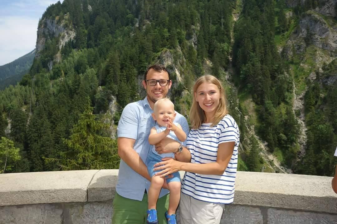 Михаэль с семьей